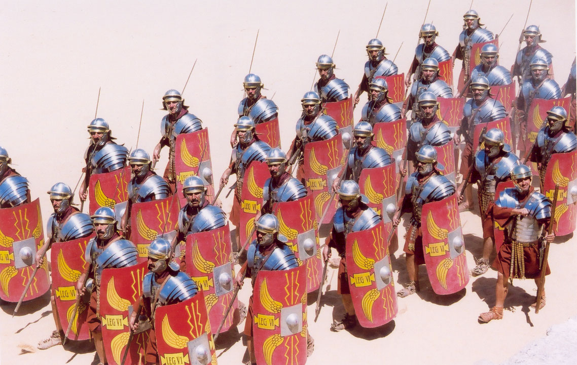 Roman Battle Drawings Roman Legionnaires in